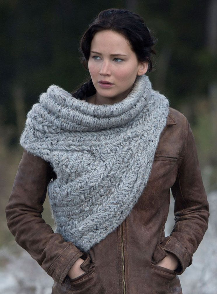 Katniss Everdeen\'s knitted cowl/vest from The Hunger Games: Catching ...