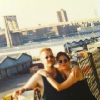 Me(and my wife) in New York 1992
