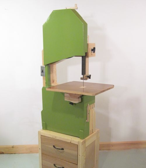 Homemade Bandsaw Made Out Of Wood Something Worth