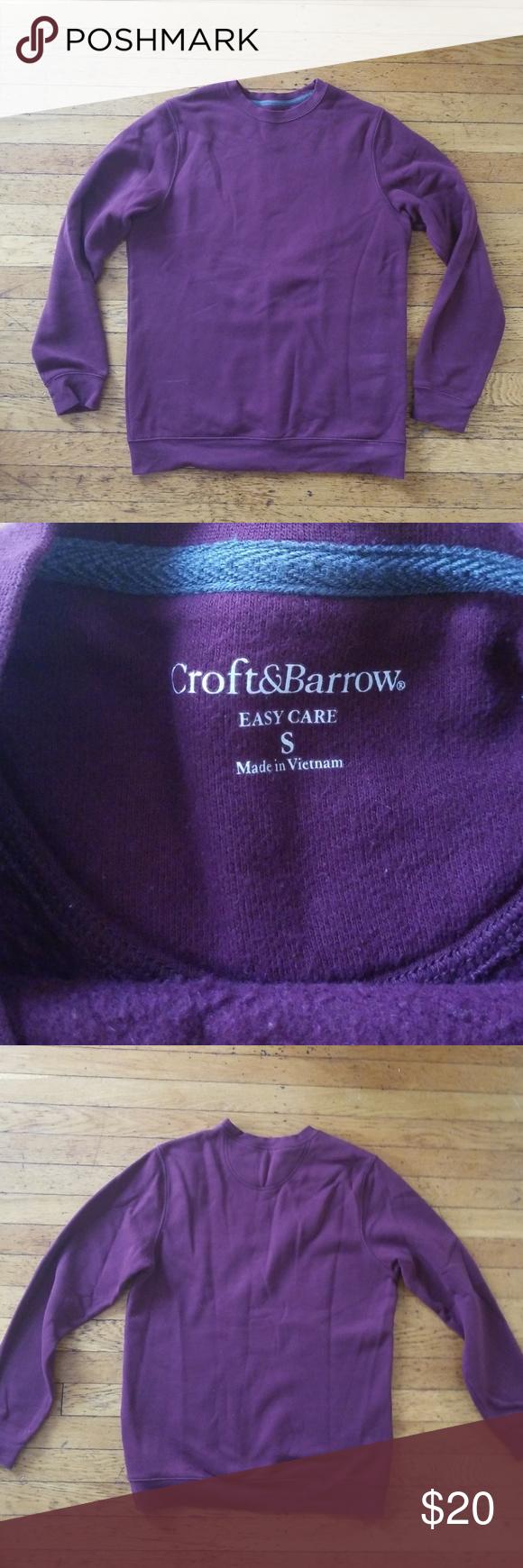 Croft And Barrow Crewneck Sweatshirt Crew Neck Sweatshirt Sweatshirts Croft And Barrow [ 1740 x 580 Pixel ]