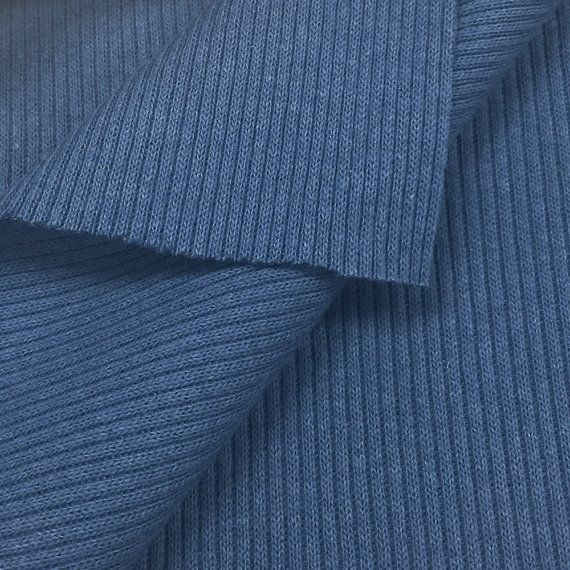 718c10e9357 USA Made Premium Quality 100% Cotton 2x1 Rib Knit Fabric (Wholesale Price…