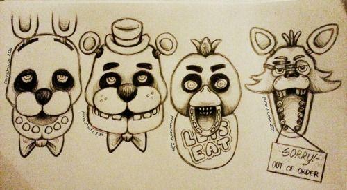 fnaf drawing my