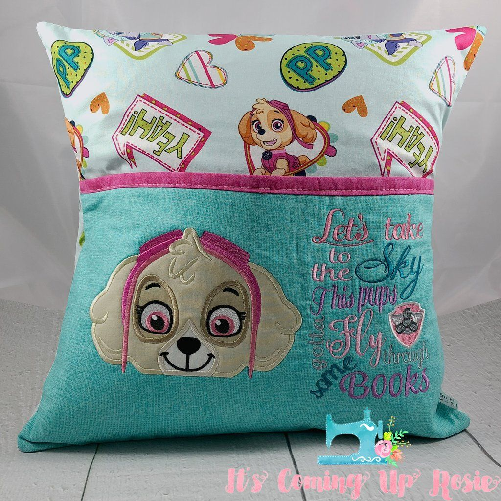 Paw Patrol Skye Reading Pillow  IN STOCK - Reading pillow, Book pillow, Skye paw patrol, Pillows, Paw patrol, Embroidery projects - Smartphones) Please note that while we have tried to accurately display the colors of products, the actual colors you see will depend on your monitor and may not be accurate