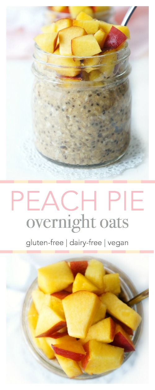 Peach Pie Overnight Oats images