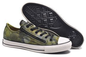 b5f05c11 #converse Converse Yellow Green Low Tops Chuck Taylor All Star Mens Shoes