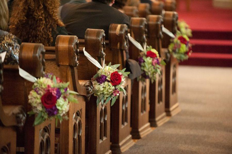 Fall Wedding Church Decorations Wedding Decorations On A Budget