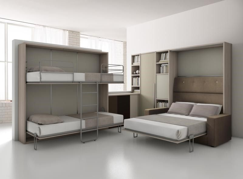 Dueb comp 2040 lit superpose ouvert ideas y madera murphy bed