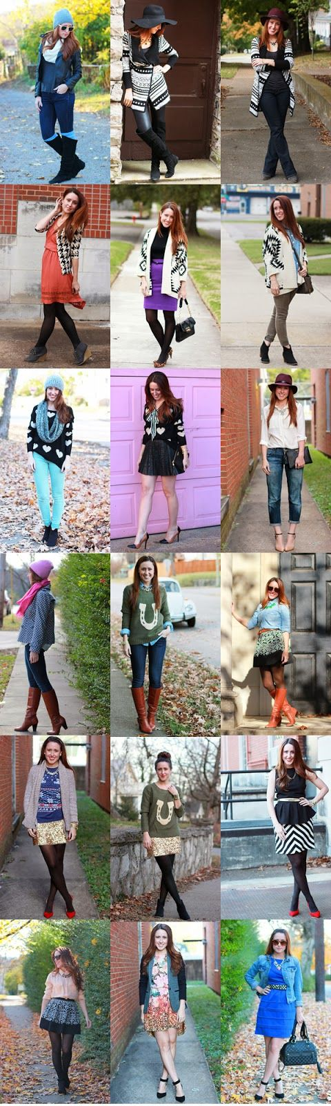 Here & Now: A November of Outfits