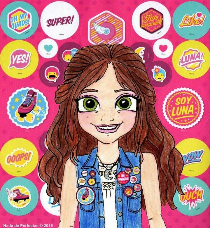 Mi Personaje Favorito De Soy Luna La Amo Luna Desenho Sou Luna Desenhos Animados De Menina