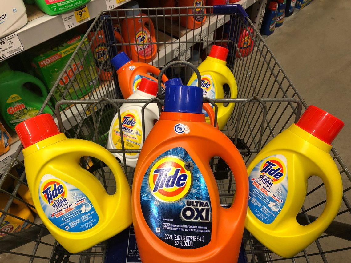 Lowe S Clearance Tide Laundry Detergent As Low As 1 20 Tide