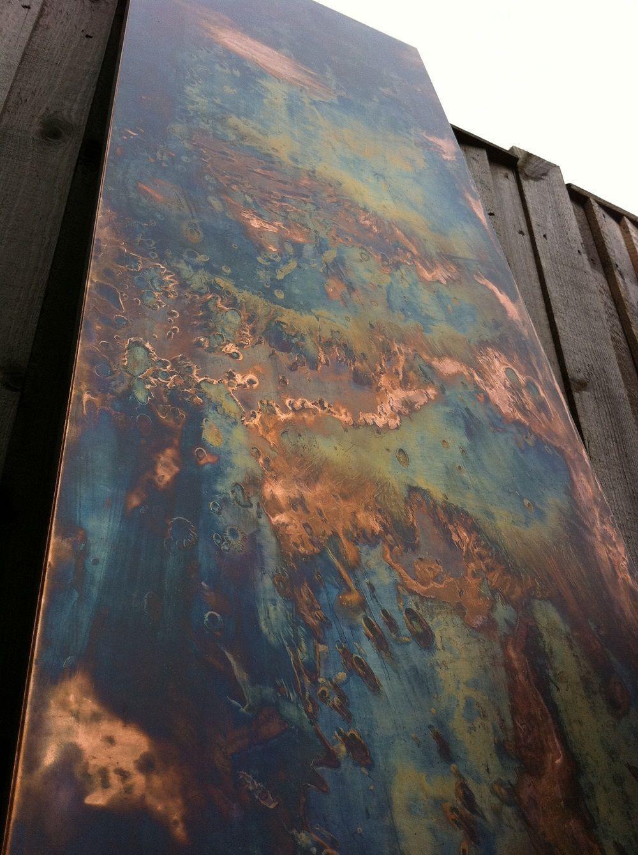 Image Result For Distressed Copper Design Metal Art Copper