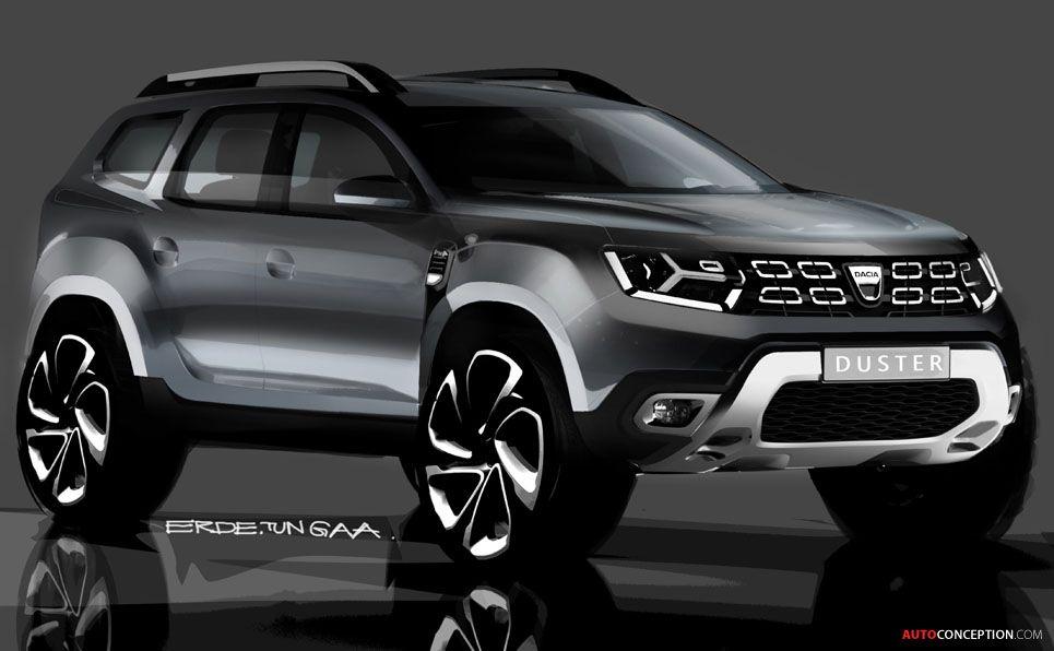 2018 dacia duster automotive transport design concept art pinterest voitures. Black Bedroom Furniture Sets. Home Design Ideas