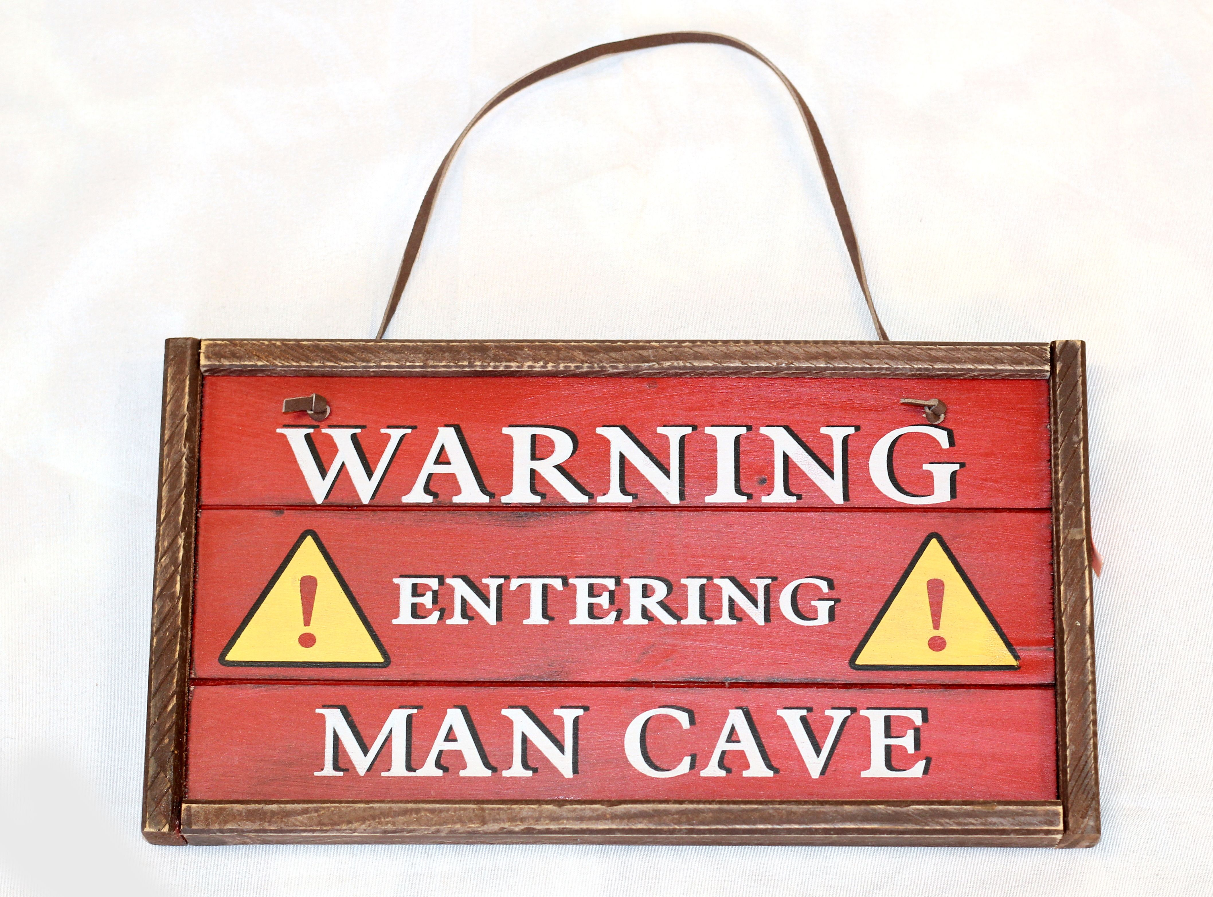 Warning! Man Cave!