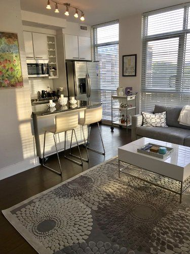 Cangelosi Gray Area Rug Home sweet home Modern contemporary