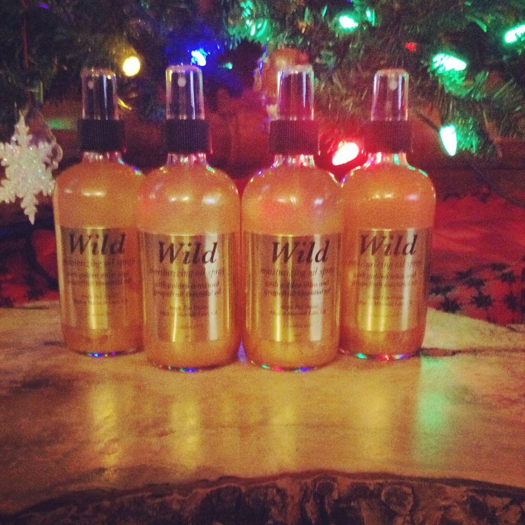 Wild moisturizing oil spray Etsy.com/shop/wildorganic Instagram hippychickmountaingirl