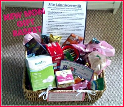 Baby Gift Recommendations : New mom gift basket i will have to remember this for my