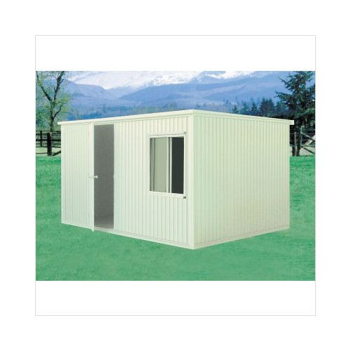Walmart Duramax Building Products 12 8 X 9 6 Insulated With Foundation 2 939 This Is A Picture Of A Shed With Tan Siding And Vinyl Sheds Shed Shed Storage