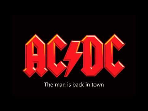Ac Dc Tnt Lyrics Youtube Rock Band Logos Acdc Logo Band