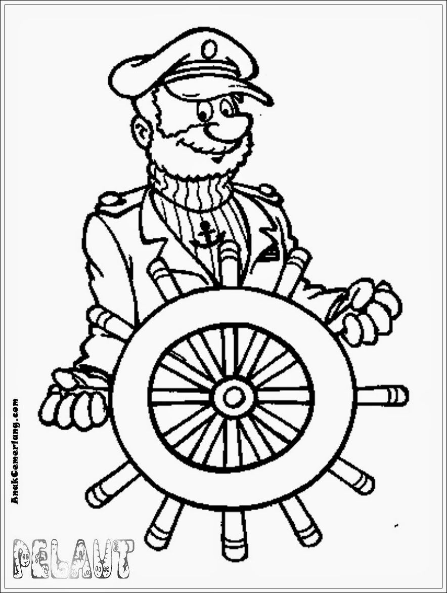 Explore Image Search Free Coloring Sheets and more mewarnai gambar profesi pelaut
