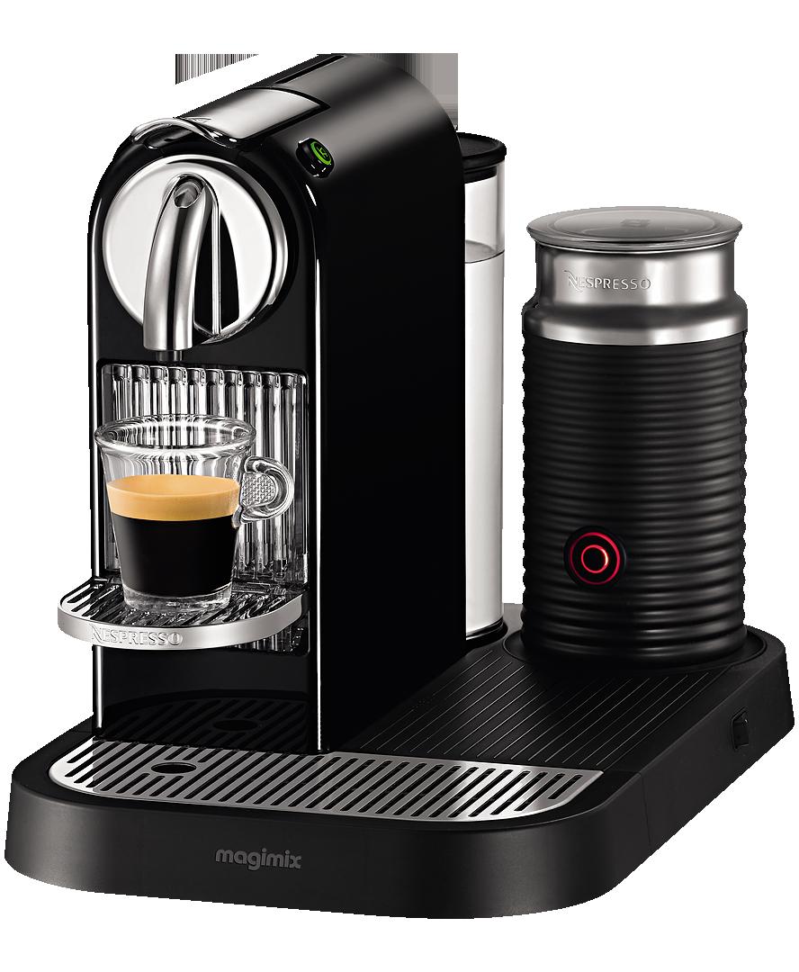 Nespresso Citiz & Milk Limousine Black (Magimix M190