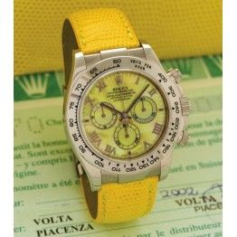Luxury Rolex Daytona Beach Yellow Watch 116519