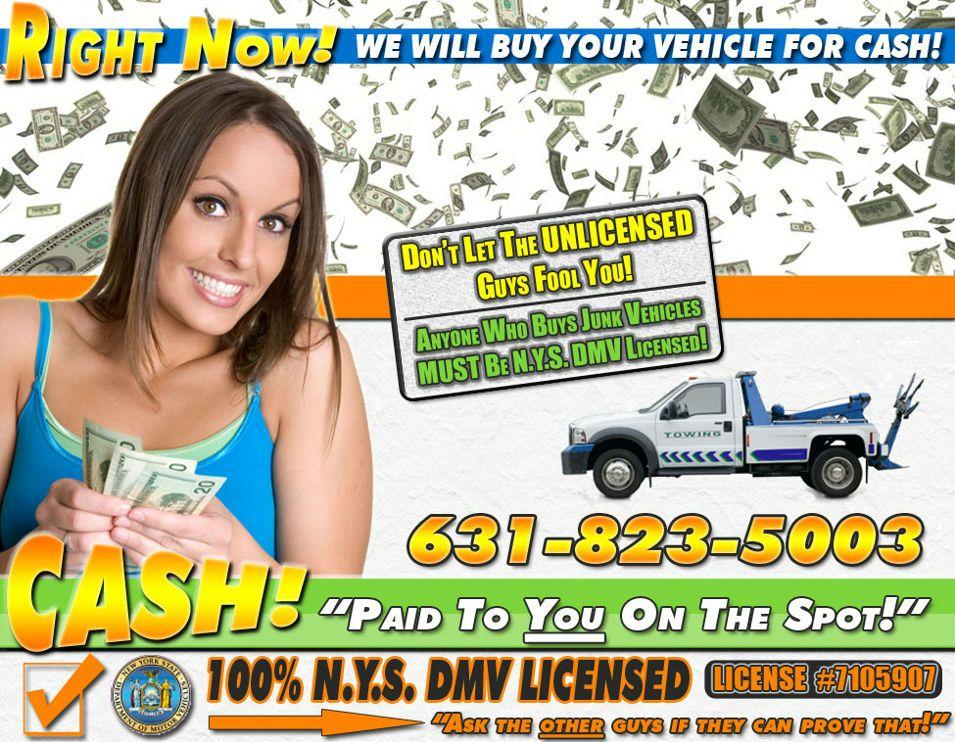 Long Island Junk Car RemovalCash For Junk CarsNassau