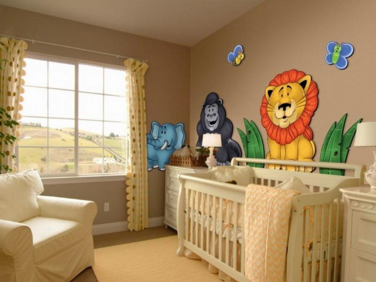 bedroom delightful baby boy room ideas with laminate wood floor