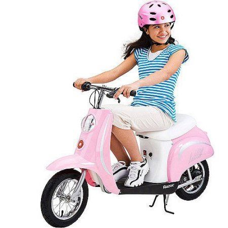 Razor Pocket Mod Electric Scooter Pink Products Retro