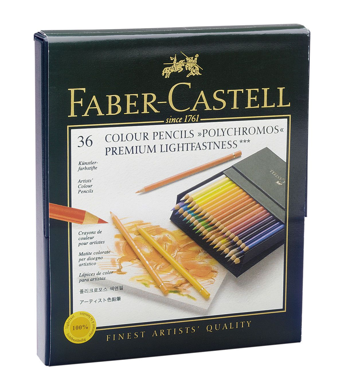 Faber Castell 36ct Polychromos Colored Pencils Colored Pencils