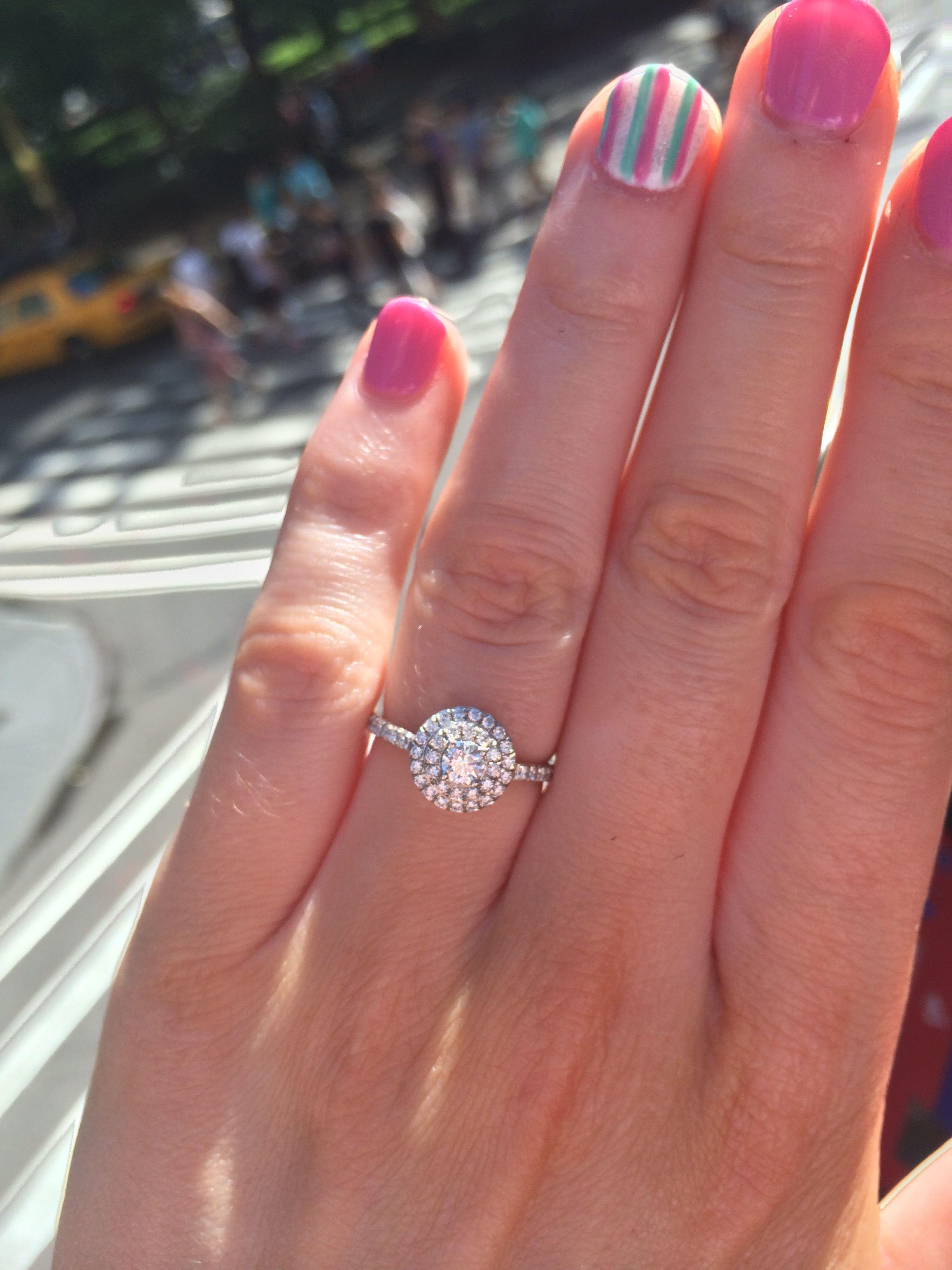 11cb6ef4c0ed8e Tiffany soleste round | Wedding | Engagement rings, Dream engagement ...