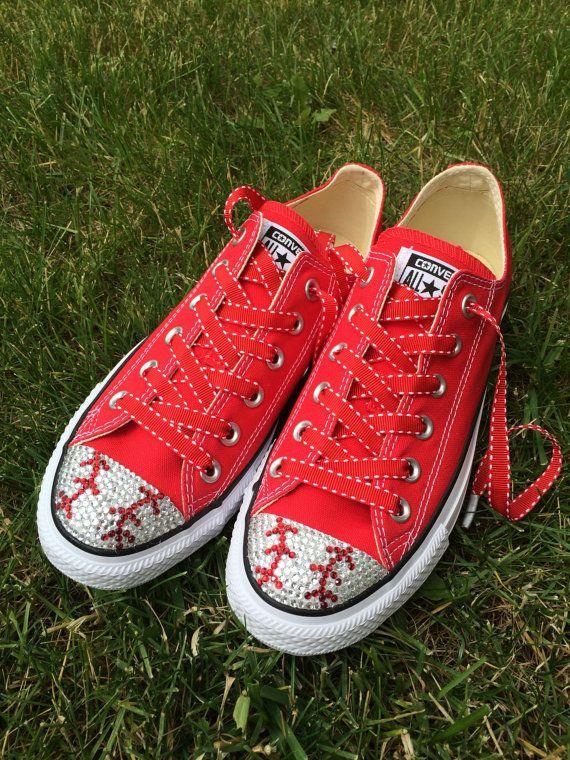 Baseball Converse Shoes. Baseball Mom