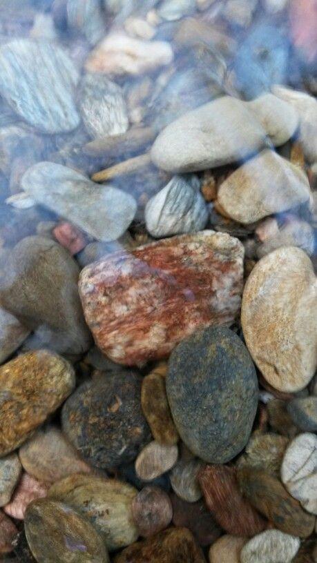 Rocks in creek Gatlinburg