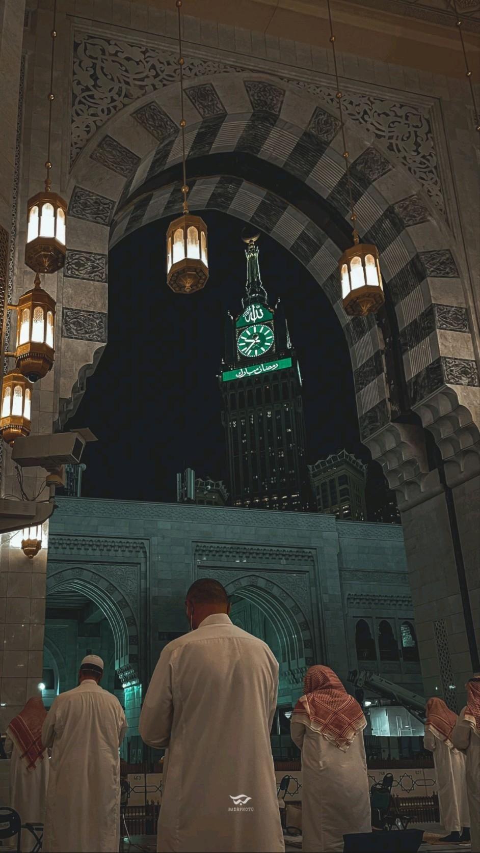 inside the masjid al hasan makka