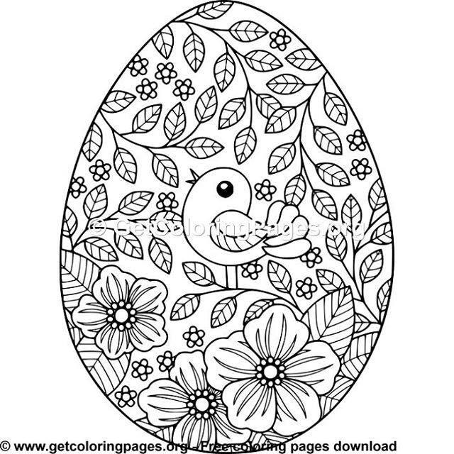 Pin Von Agnes Koecse Auf Ostereier Malvorlagen Ostern Osterei Malvorlage Ostereier Dekorieren