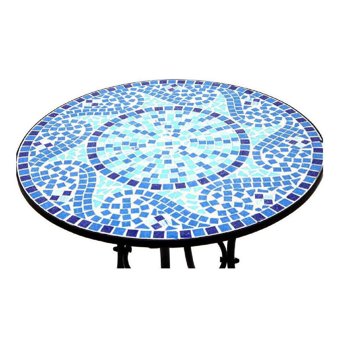 Resultado de imagen para mesa redonda mosaico jardin for Mesa mosaico jardin