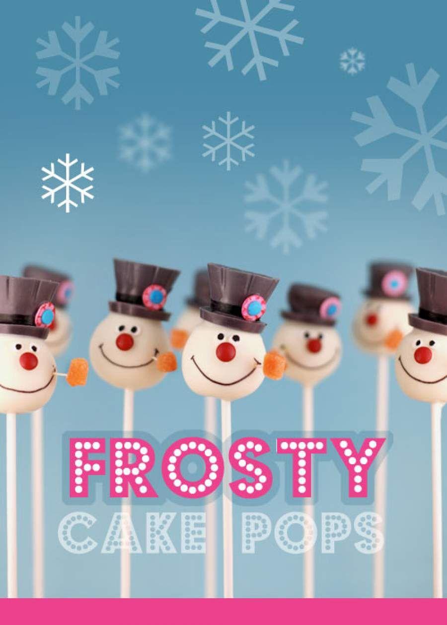Snowman Cake Pops « bakerella.com