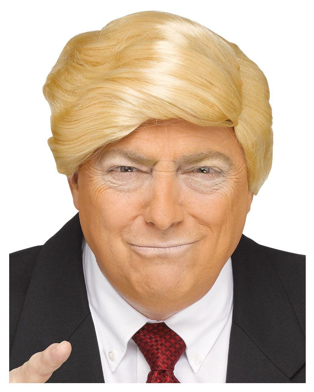Trump Perucke Us Prasidentschafts Kandidaten Frisur Horror Shop Com Perucken Afro Look Manner Perucken