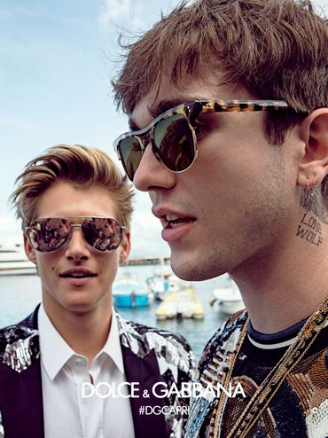 d0c88be1a1ba Get inspired by Dolce   Gabbana Eyewear advertising campaigns and choose  the perfect look with the winter 2016 collection.