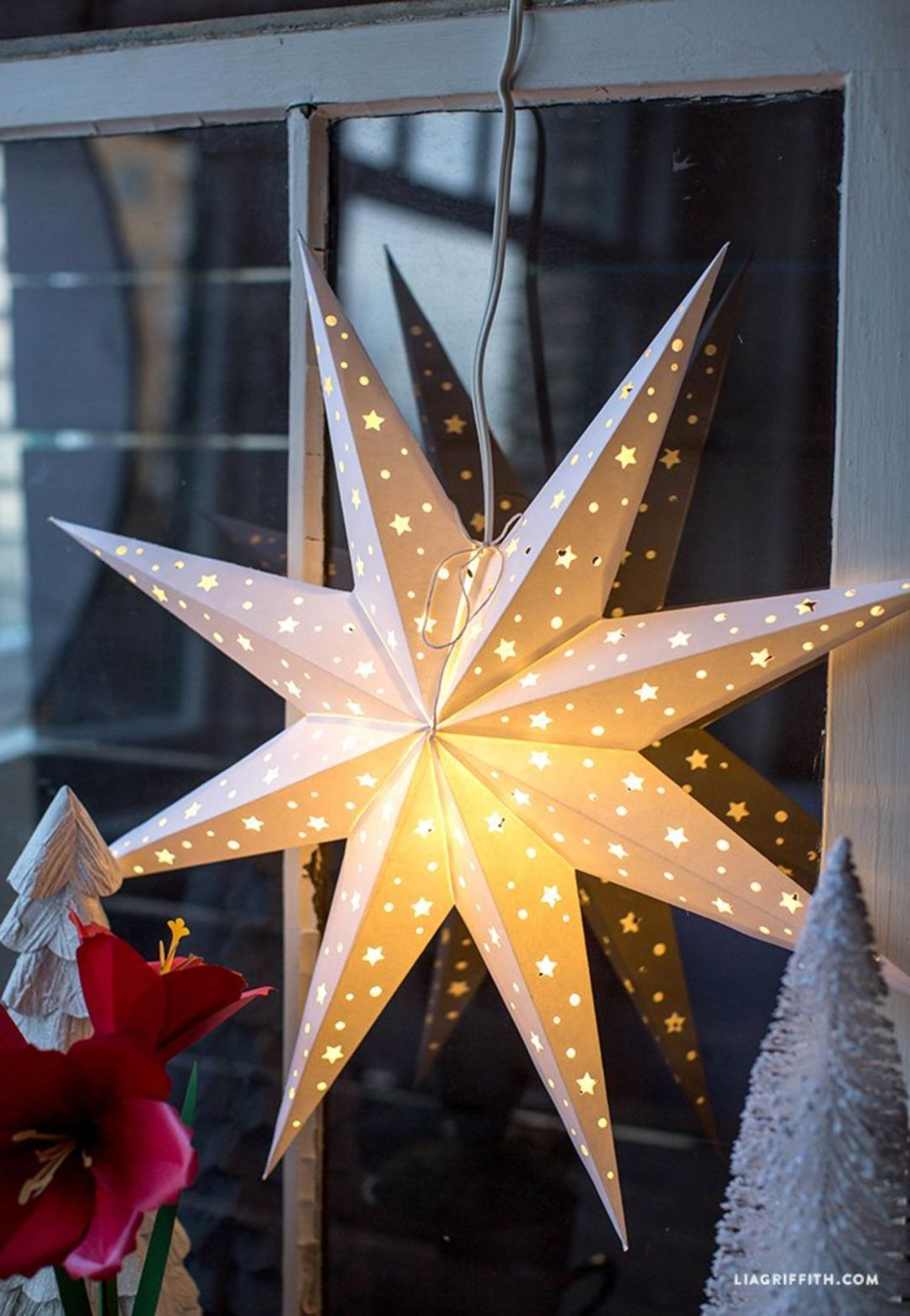 25+ DIY Christmas Decoration Ideas With Origami Paper images