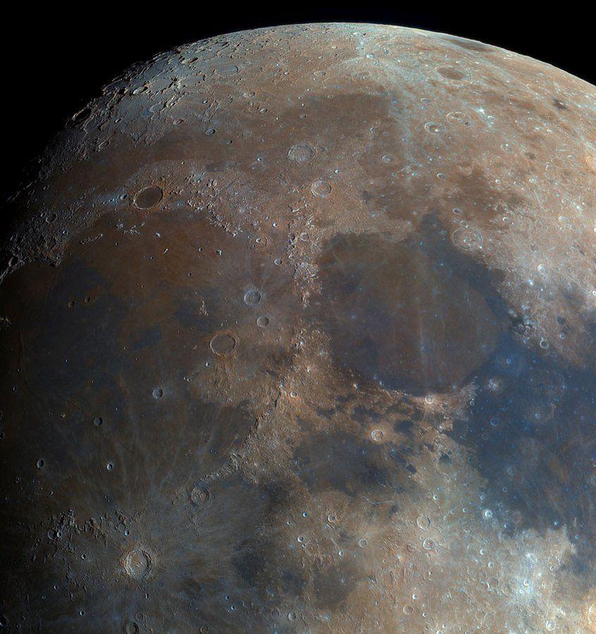 Опубликованы снимки Луны в высоком разрешении 2018 ...