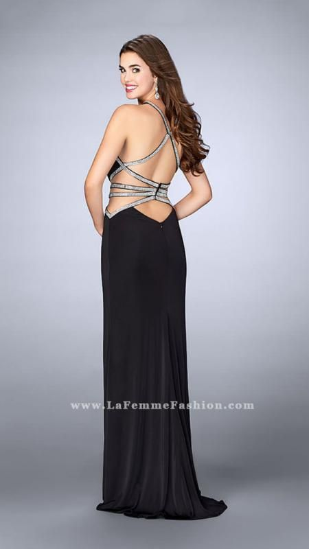 b15a41e207aa la femme open back prom dress All of the products we sell come with a 100%  guarantee. Come in our online store and shop the latest prom dresses with  big ...