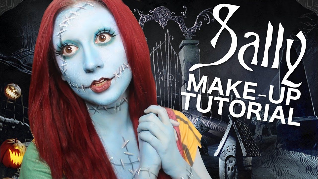SALLY - NIGHTMARE BEFORE CHRISTMAS - MAKEUP TUTORIAL ...
