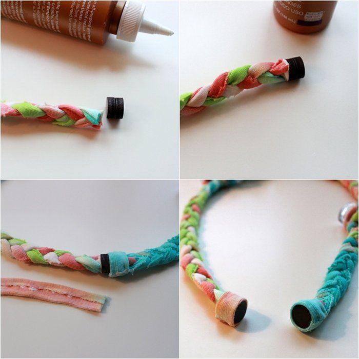 make-a-magnet-closure-for-jewelry | FAbric scrap IDeas | Pinterest ...