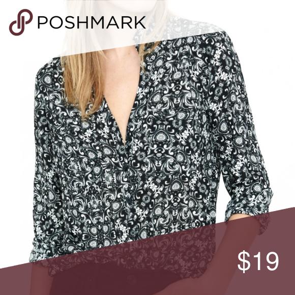 Express | Portofino Shirt SLIM FIT Scroll Print