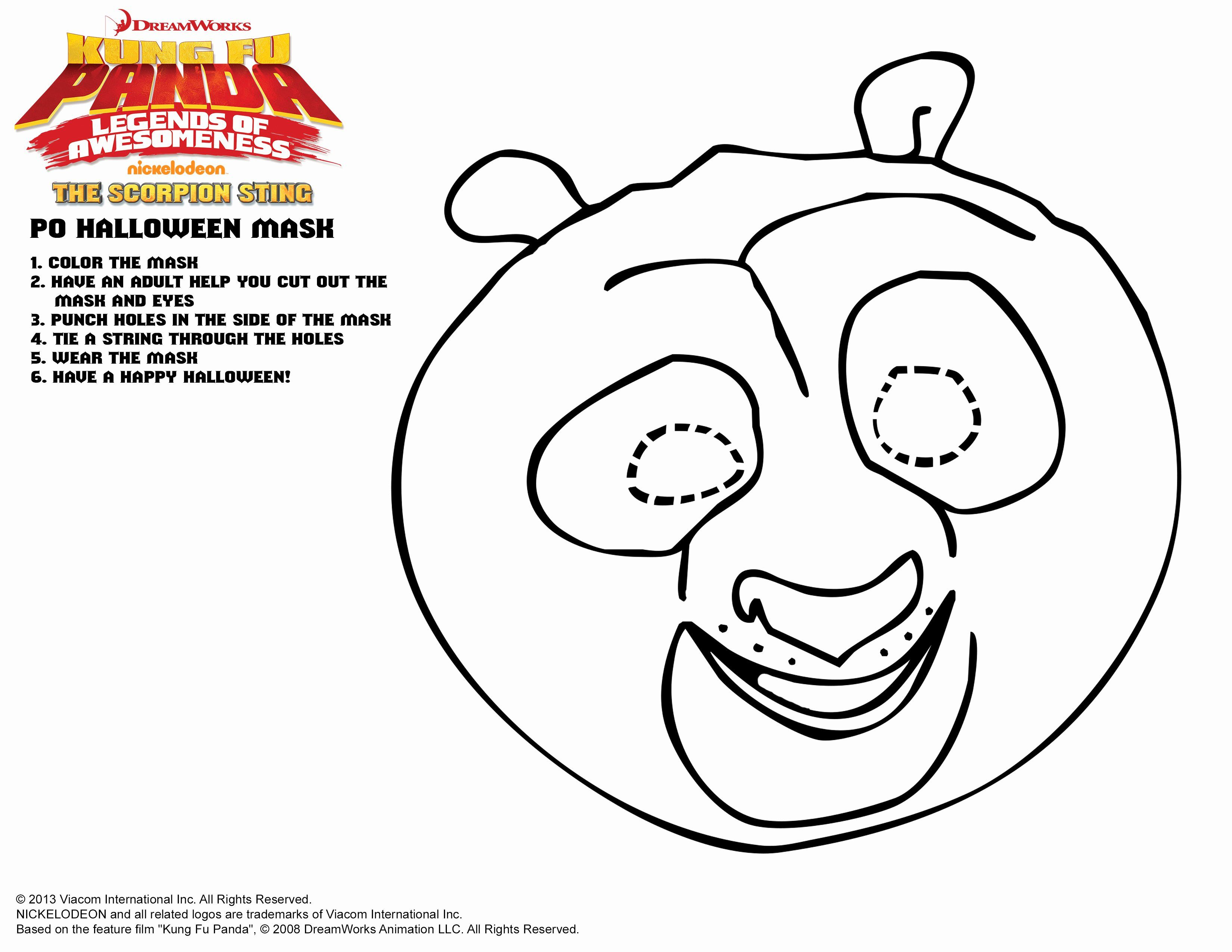 Combo Panda Coloring Page Unique Dreamworks Family S For Halloween Halloween Printables In 2020 Panda Coloring Pages Coloring Pages Inspirational Kung Fu Panda Party