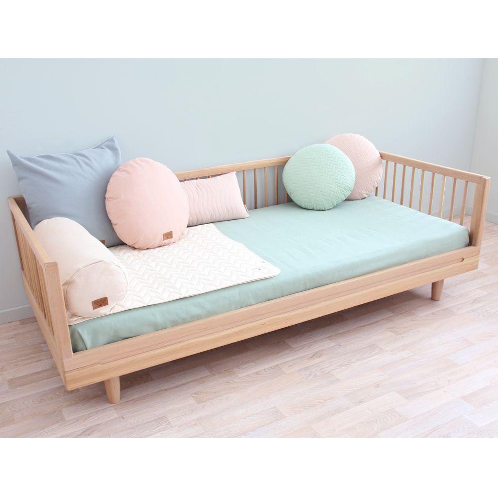 Kit d 39 extension sofa pour lit pure 90x200 cm naturel for Sofa 90x200