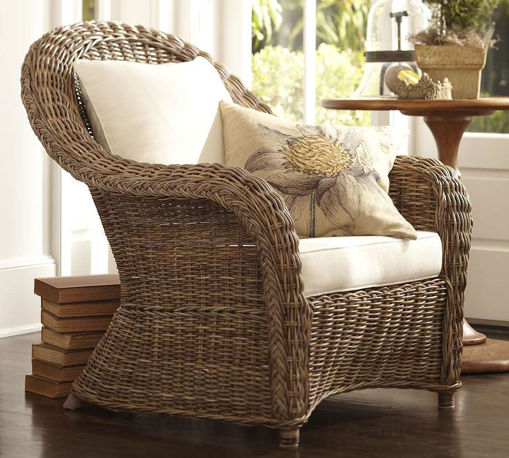 Pottery Barn Torrey Wicker Chair  I Have This And Itu0027s My Favorite Pottery Barn Rattan F27