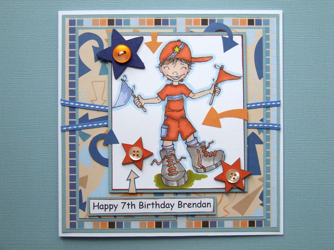Handmade Birthday Card For 19 Yr Old
