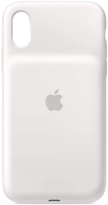 Amazon Com Apple Smart Battery Case For Iphone Xr White Apple Ipad Case Apple Cases Apple