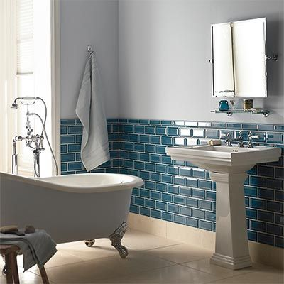 1000 images about maison salle de bain on pinterest - Faience Metro